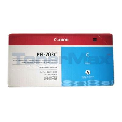 CANON IPF820 PFI-703C INK TANK CYAN 700ML